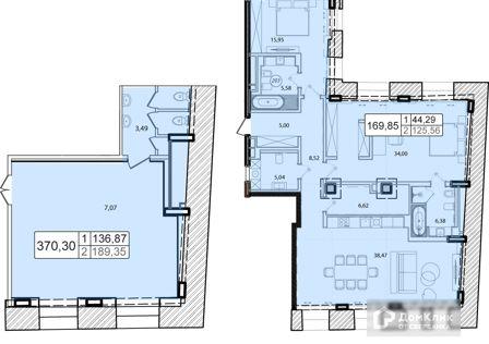 Продаётся 5-комнатная квартира, 152 м²