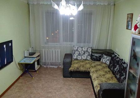 Продаётся 2-комнатная квартира, 52.1 м²