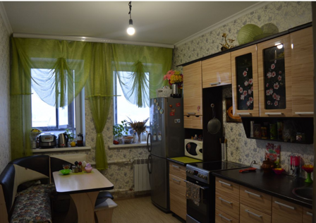 Продаётся 1-комнатная квартира, 43.4 м²