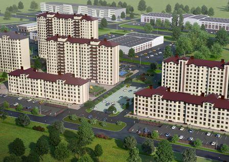 Продаётся 2-комнатная квартира, 55.74 м²