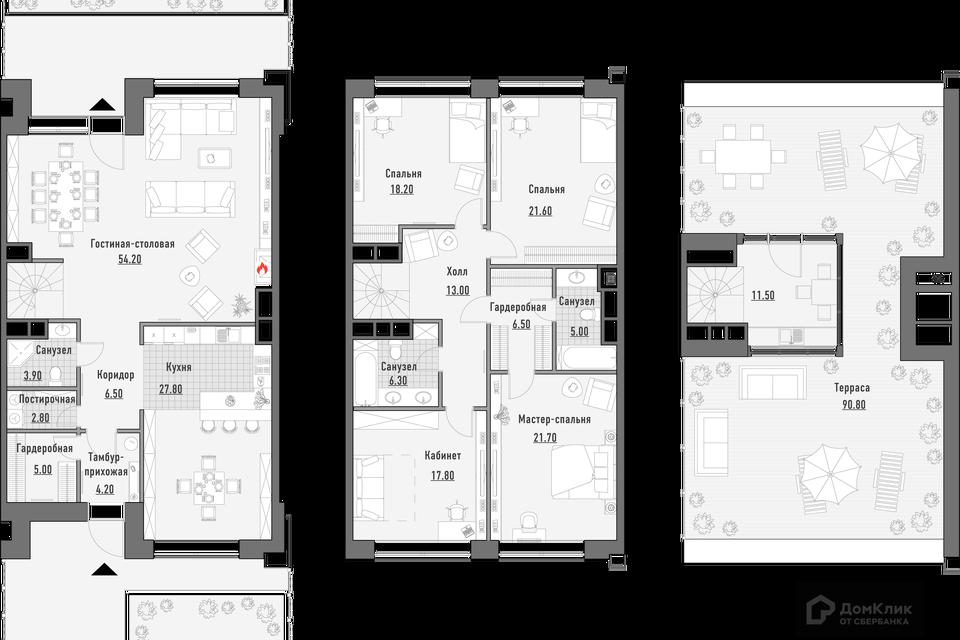 Продаётся 5-комнатная квартира, 248.59 м²