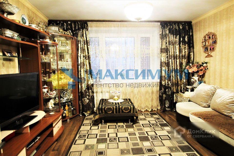 Продаётся 2-комнатная квартира, 52.4 м²